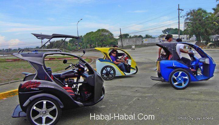2012 design pedicab trisikad