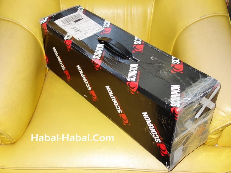 scorpion exhaust box